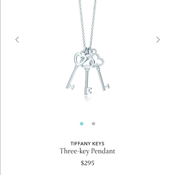 b686c2e5d Tiffany & Co. Jewelry | Tiffany Co Three Key Pendent | Poshmark